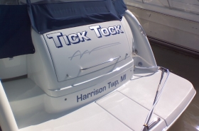 boat name tick tock