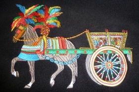 embroidery-horse