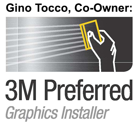 3M Preferred Graphics Installer Gino Tocco