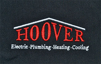 Hoover Electric Embroidery Sample