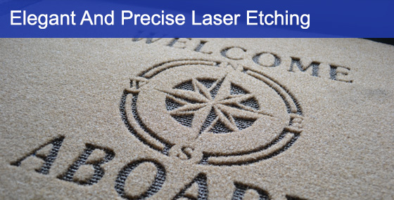 Boat Mat Banner For Laser Etching